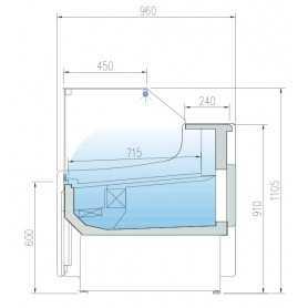 BAC A GLACE INOX 5,2 L