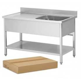 PIED DE TABLE INOX 06