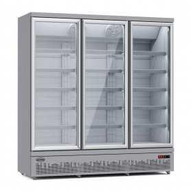 Comptoir réfrigéré ventilé avec réserve réfrigérée